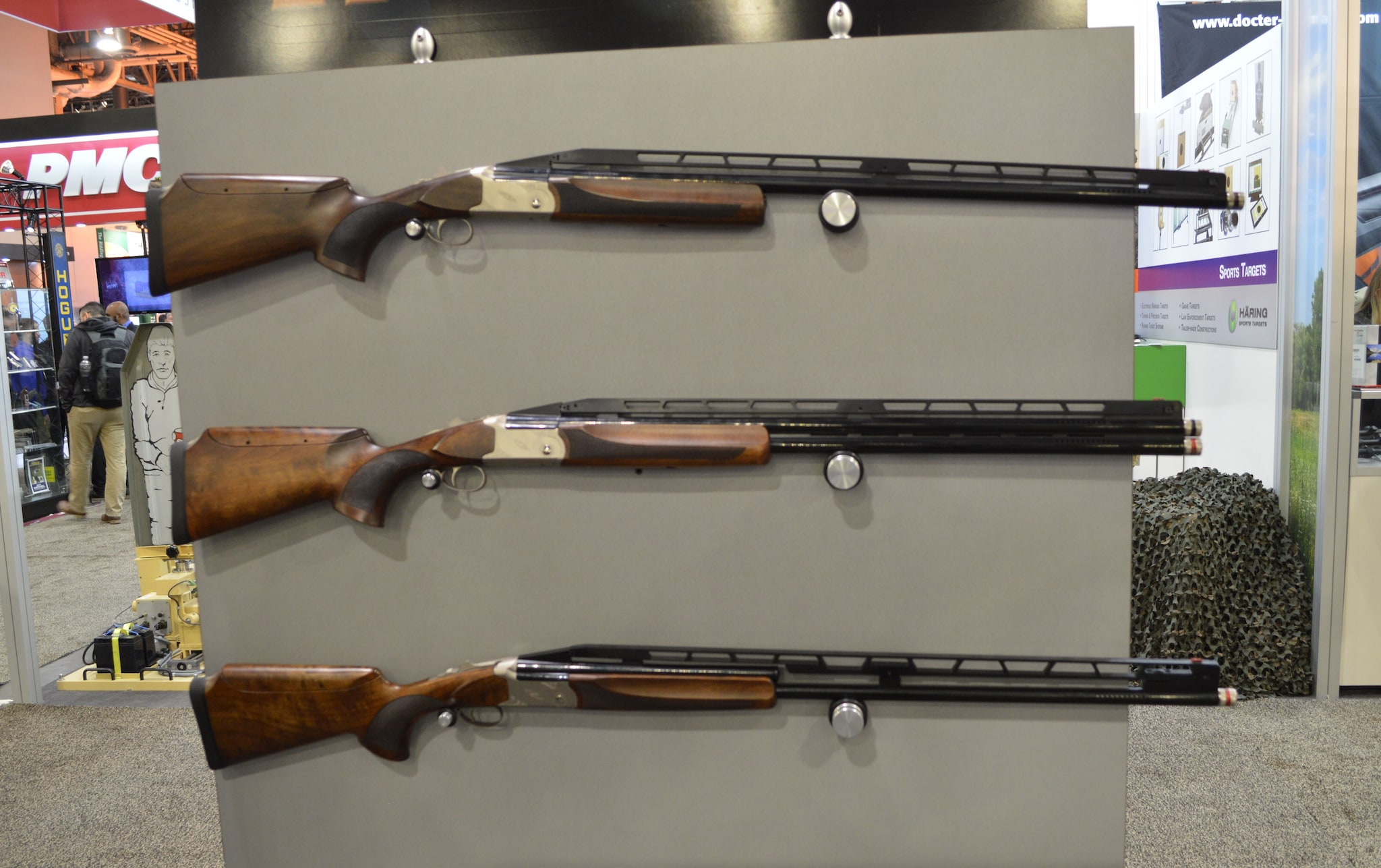 TriStar's new-for-2016 TT-15 Trap guns: top single, unsingle, double trap, and an available combo set