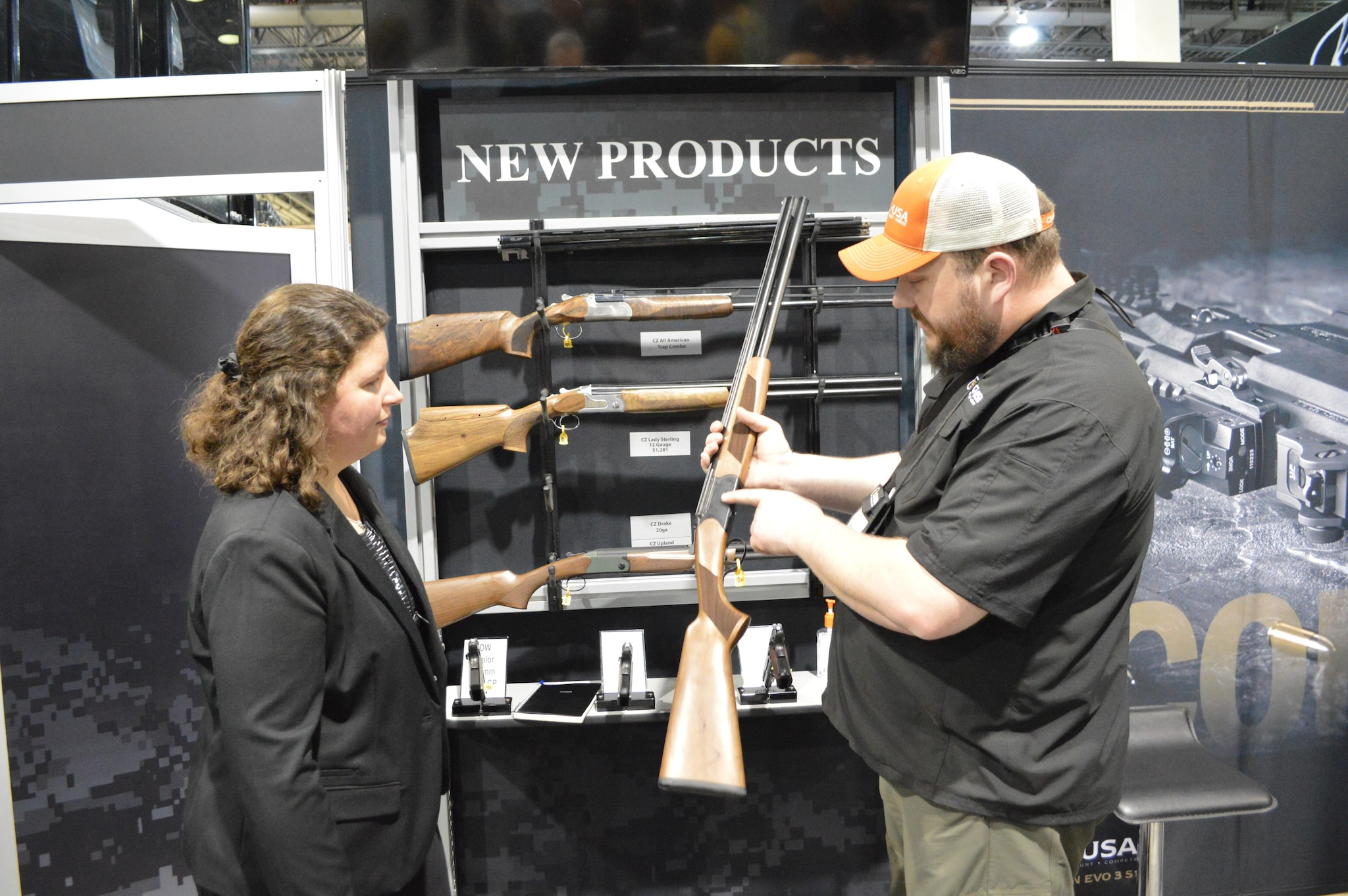 CZ rep Zach Hein explains the budget-friendly Drake O/U shotgun in both 12 and 20, built for hard use and cost-conscious buyers with an MSRP just over $600.