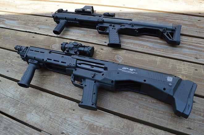 Shotgun Head-to-head: DP-12 vs Kel Tec KSG - Guns com