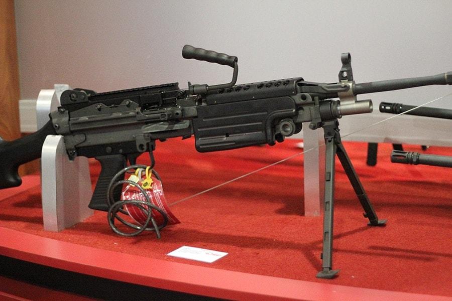 FNH USA M249S SAW light machine gun variant