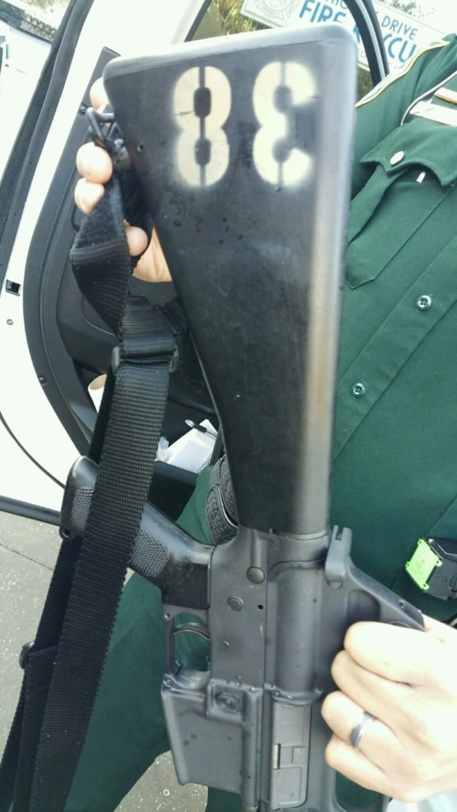 Colt M16 found on side of road gets fast reunion 2