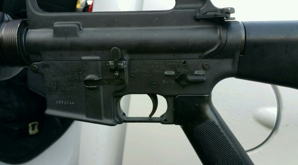 Colt M16 found on side of road gets fast reunion