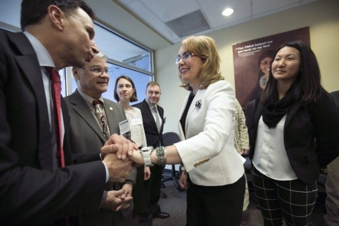 Gabby Giffords sets up new group to enhance Oregon gun laws