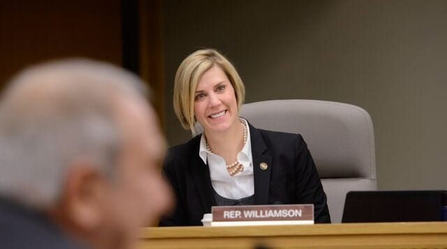 House Majority Leader Jennifer Williamson