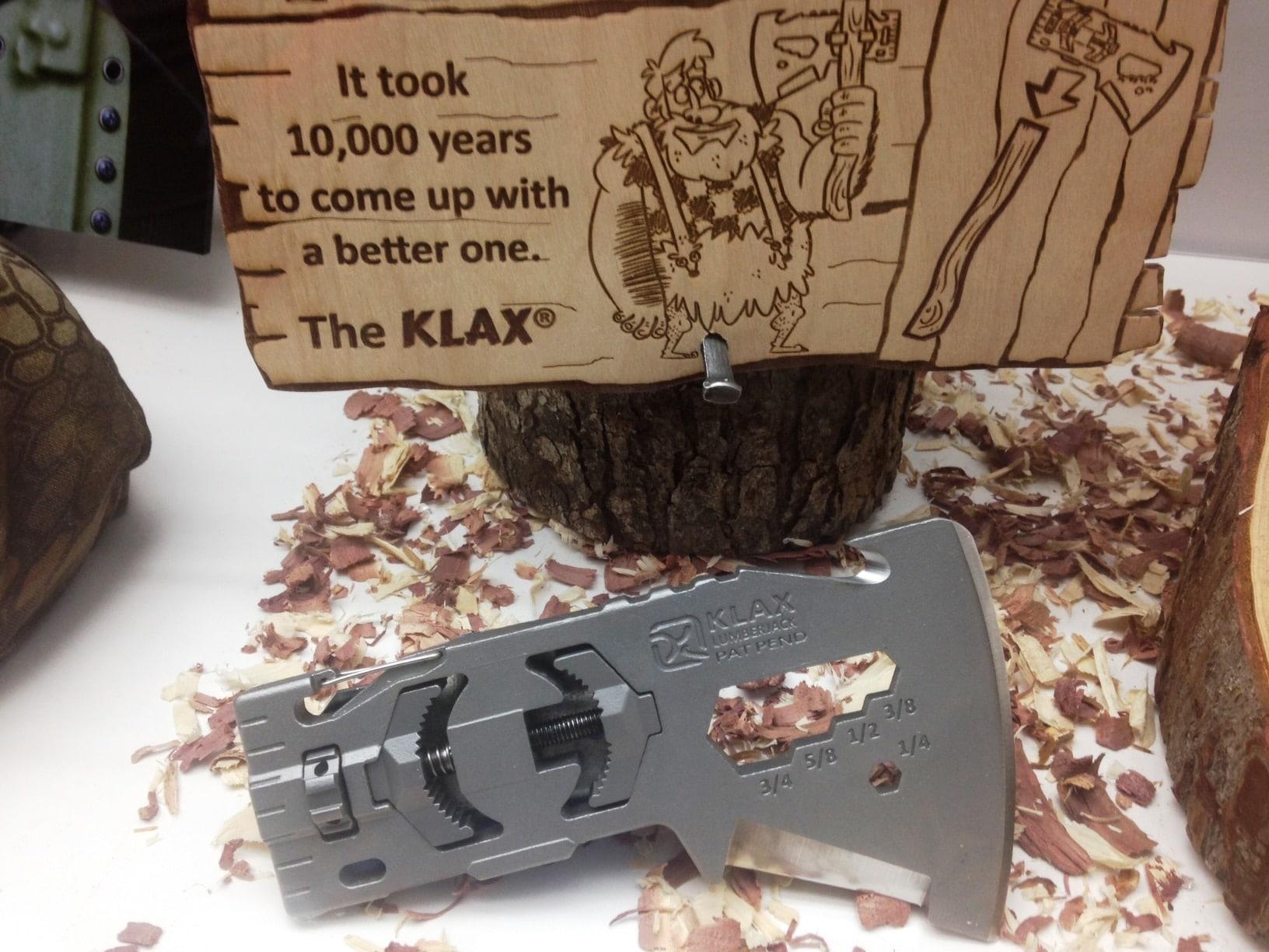 Klax Lumberjack head has classic and modern appeal