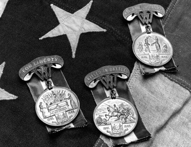 State has 4,000 unclaimed medals in storage from Civil War