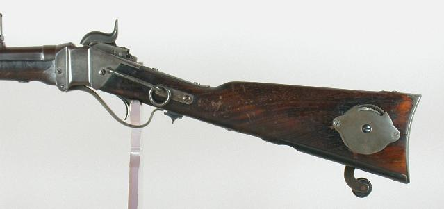 The 'coffee grinder' Sharps Carbine with a mill right in the stock (6)