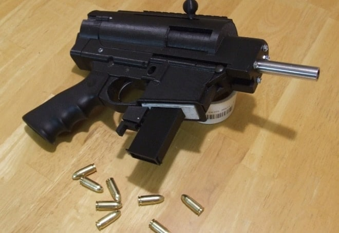 This guy made a '95 percent' 3-D printed semi auto pistol (VIDEO)