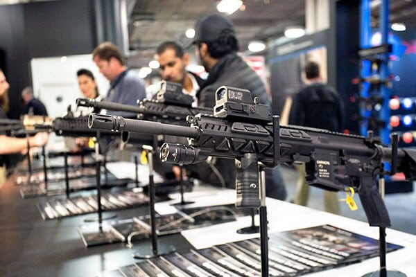 CAR816-A2 rifle with Fusion System Kit option unveiled at SHOT Show 2016.