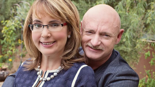 Former Arizona Rep. Gabby Giffords, left, and her husband former astronaut Capt. Mark Kelly. (Photo: Facebook)