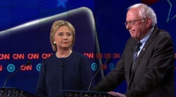 Bernie Sanders, Hillary Clinton clash in debate over Newtown gun lawsuit (VIDEO)