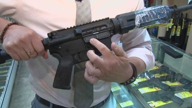 Cop facing murder charge had customized AR-15 dust cover