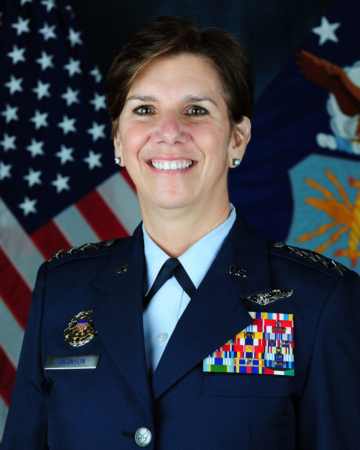 Gen. Lori Robinson entered the Air Force in 1982 through the ROTC program at the University of New Hampshire. (Photo: DoD)