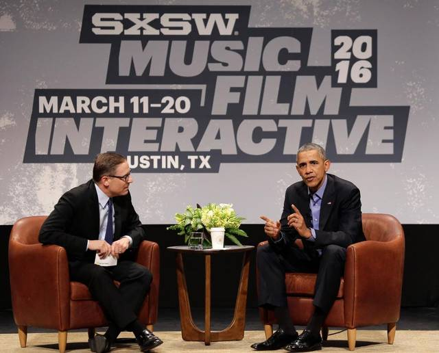Gun control group blasts 'threats' made by open carry group in Obama SXSW visit