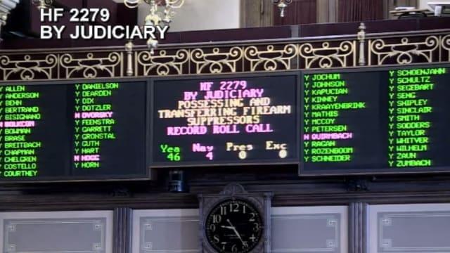 Iowa Senate passes suppressor legalization bill by huge margin
