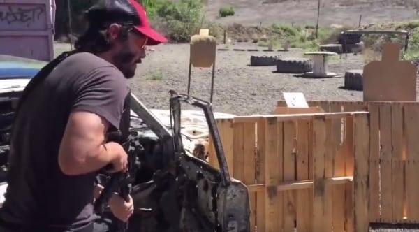 John Wick getting some 3 gun training in (VIDEO)