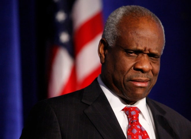 Justice Thomas questions for first time in 10 years, and it's on a gun rights case