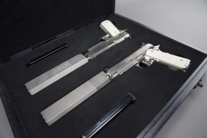SilencerCo may have just released the ultimate custom suppressed 1911 set3