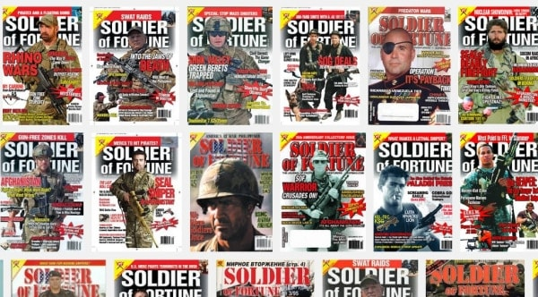Soldier of Fortune magazine to stop publishing after 40 years