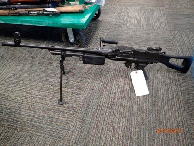 Stolen machine gun pops up 6 years after theft in storage locker of late crook