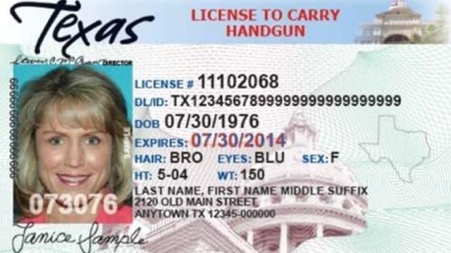 Texas-license