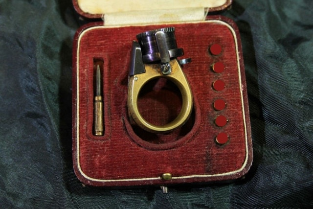 This 19th Century ring packs a six-shot punch (1)