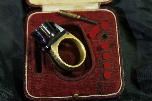 This 19th Century ring packs a six-shot punch (5)