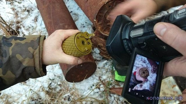 70 year old saboteur cache looks like it was buried yesterday