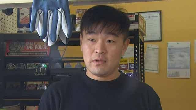 store clerk Min Kim