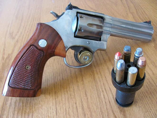 All kinds of projectiles, all kinds of uses—all of them .357. (Photo: Andy C)