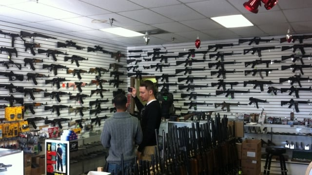 Bill to video all gun sales, add restrictions to shops pulled
