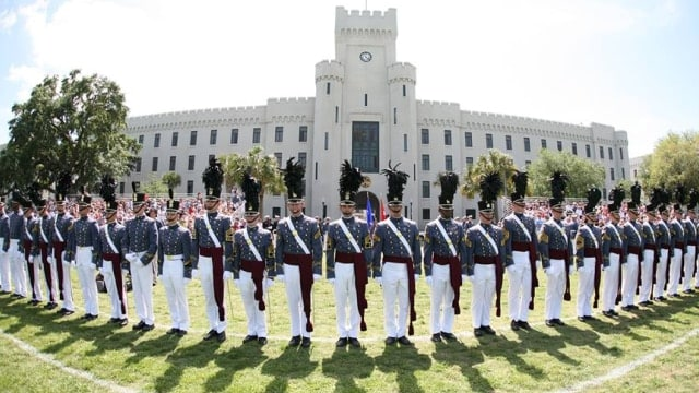Citadel approves change to allow guns in cars