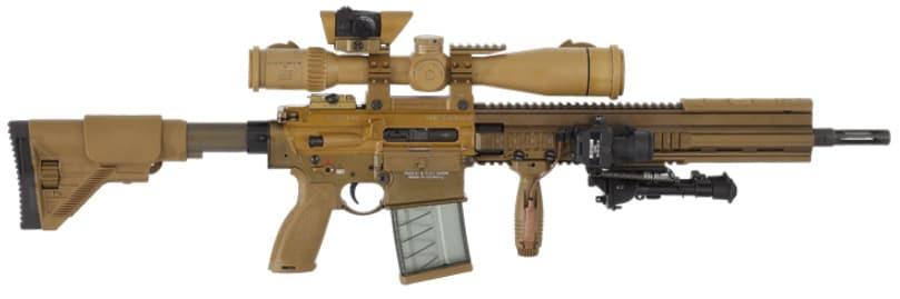 The HK G28 rifle. (Photo: HK)