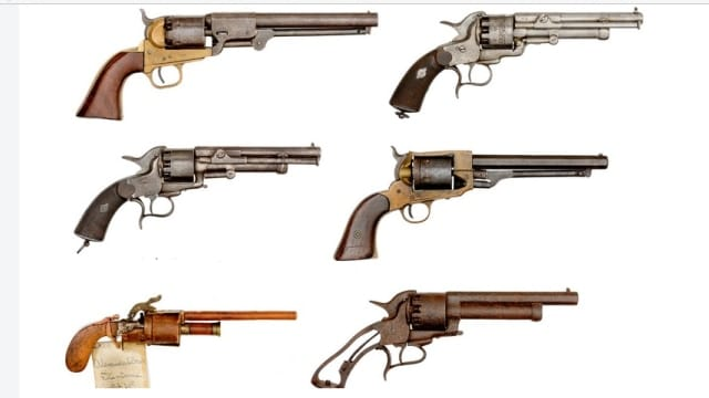 Historic collection of rare Civil War guns to be auctioned off (12