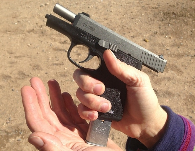 mag coming out of a kahr 380