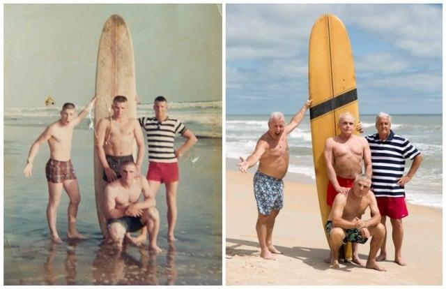 Marines reunite 50 years later to recreate photo taken near Camp Pendleton