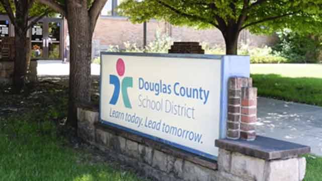 Douglas County School District sign