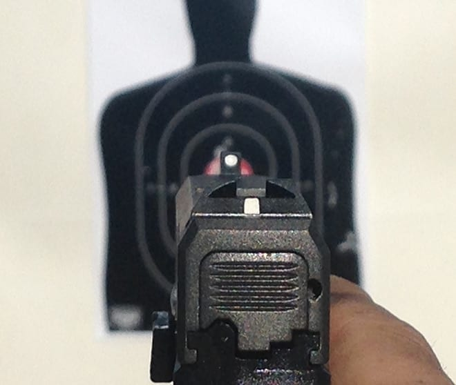 sight markings of kahr ct380