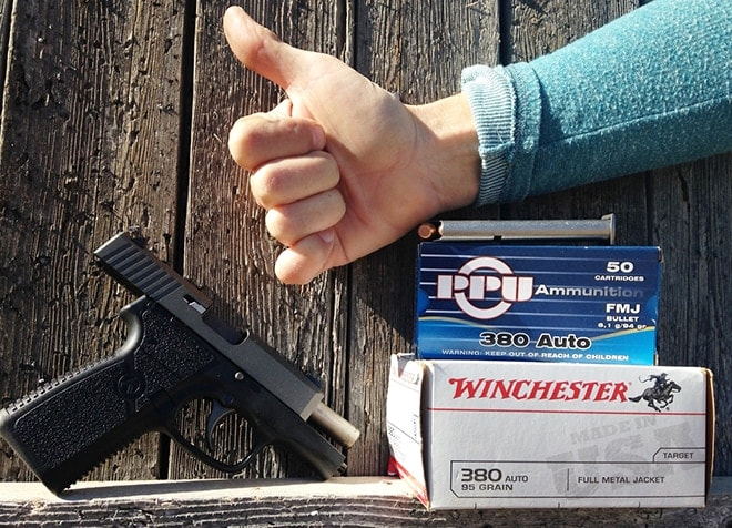 ammo to use with a kahr ct380