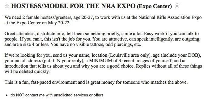 The job description.