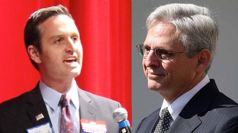 Virginia GOP Chair John Whitbeck and SCOTUS nominee Merrick Garland