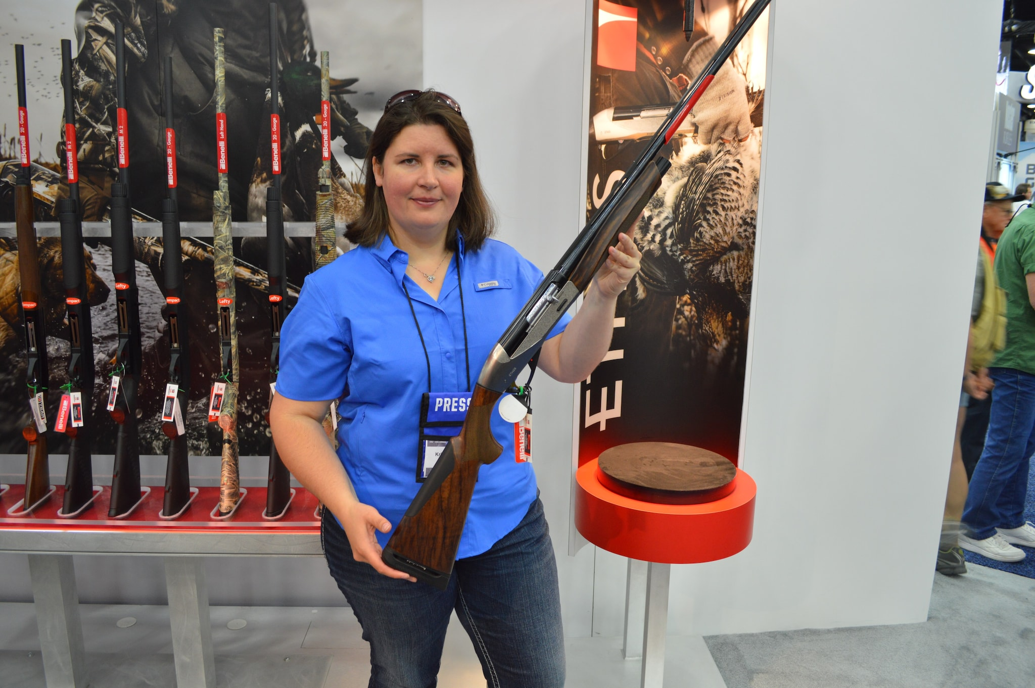 "Benelli's Ethos will soon be released in 28 gauge. As if that's not enough news, it's not just a standard 28, but rather a 3"" Magnum 28-gauge. Ammo should be released by Fiocchi at the same time the gun hits the shelves. (Photo: Kristin Alberts/Guns.com)"