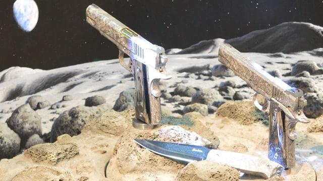 Cabot's $4.5 million meteorite pistols