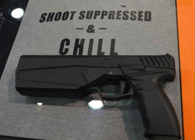 The gun will be completely produced in-house at SilencerCo