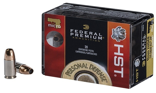 federal premium ammunition micro hst