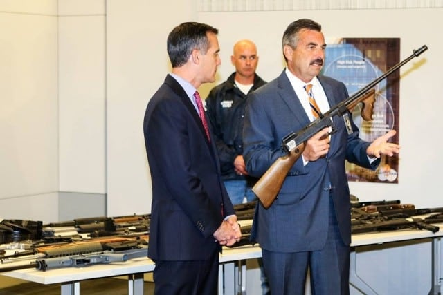 Gun registered to Sammy Davis Jr. among 791 firearms collected in LAPD (5)