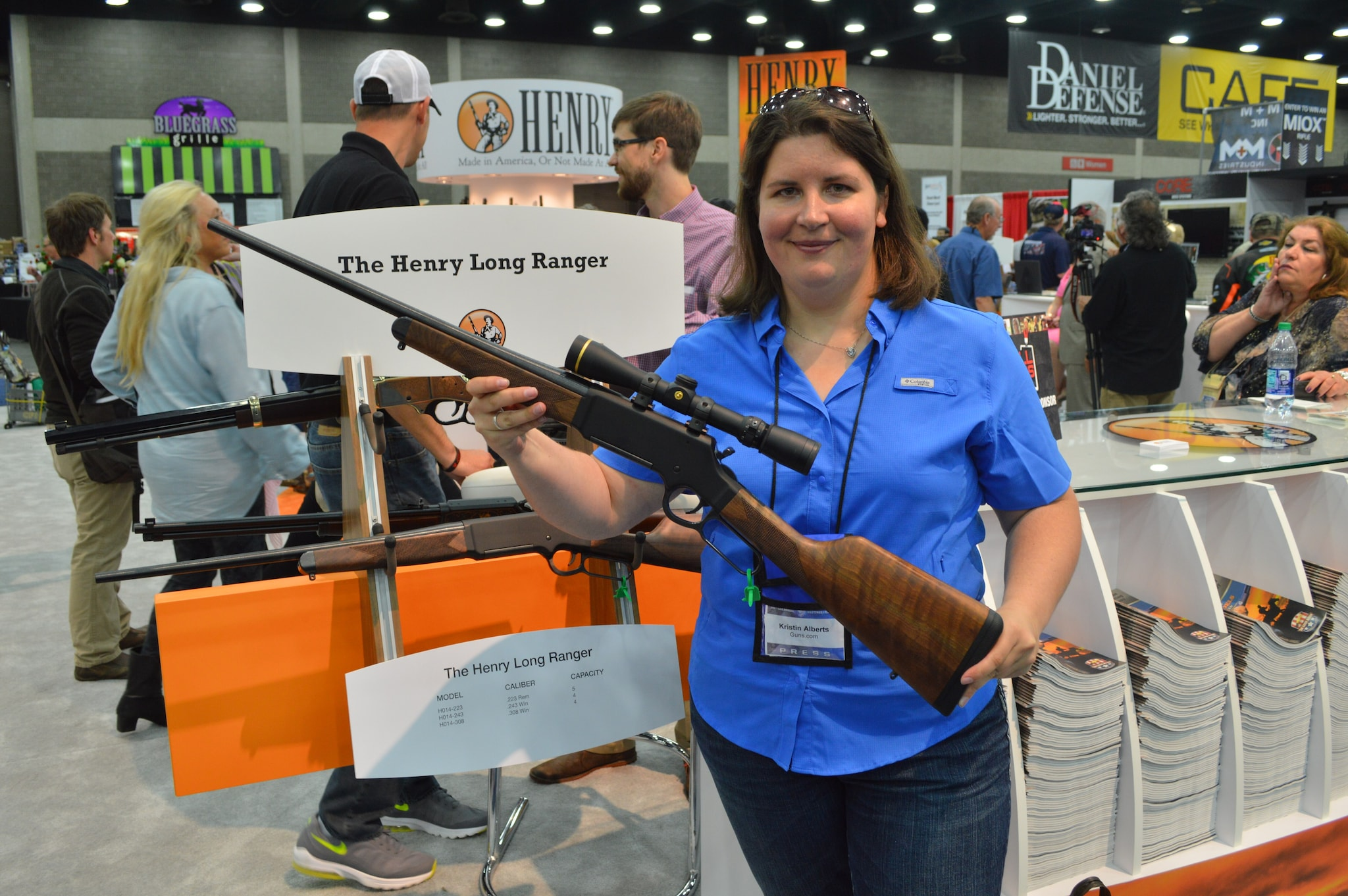 Henry's Long Ranger mates lever gun reliability to long-range accuracy with chamberings in .223, .243, and .308. (Photo: Kristin Alberts/Guns.com)