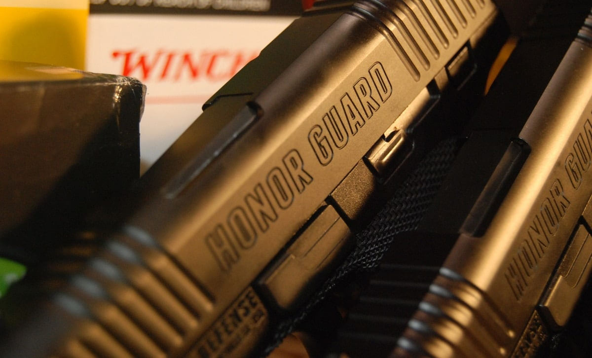 honor Defense pistol handgun backup gun