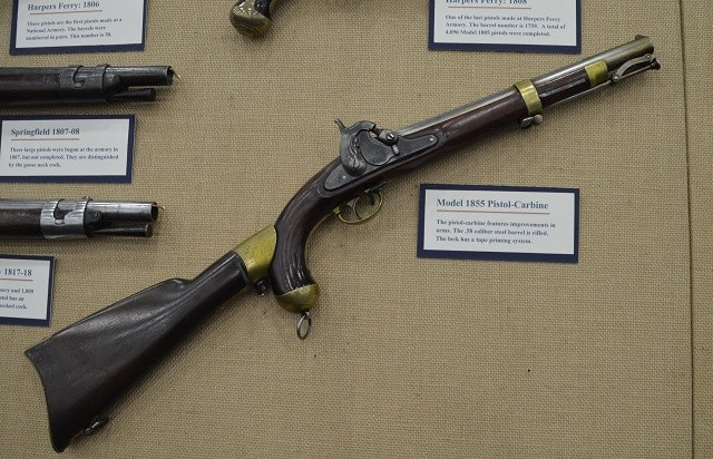 And a M1855 pistol carbine