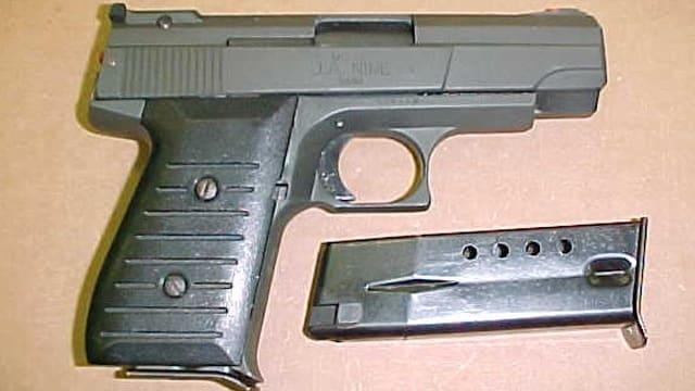 Jimenez 9mm pistol